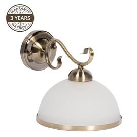 Valgusti Domoletti Estera MB90746C/1 Wall Lamp 60W E27 White/Gold
