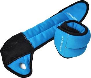 Axer Sport Wrist Weights 2x0.5kg Blue