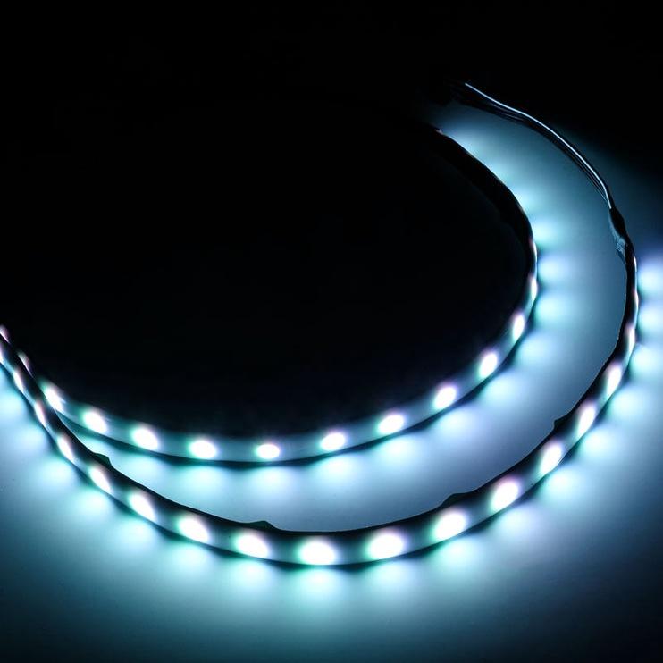 Silverstone RGB LED Hub Black + 2x LED Strip