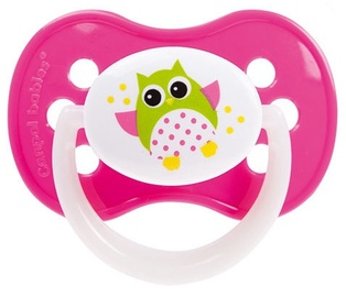 Canpol Babies Owls Symmetric Silicone Soother 18+m Assort