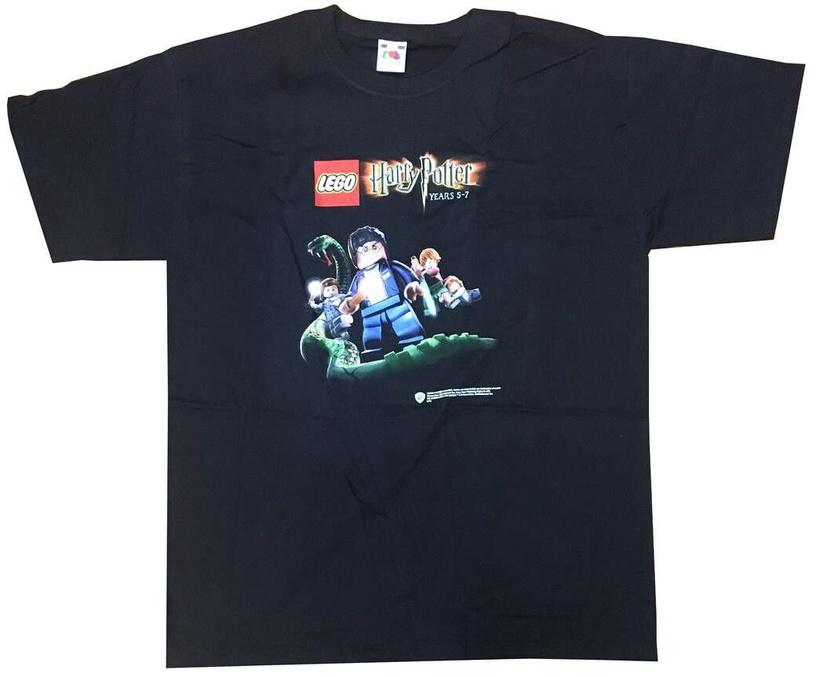Футболка Sony Lego Harry Potter Cover Art Black 152cm