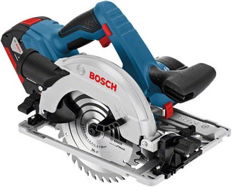 Bosch GKS 18V-57 G Cordless Circular Saw with 2 Batteries