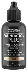 Gosh Foundation Plus+ 30ml 08