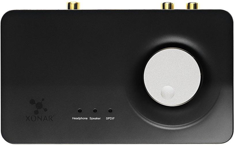 ASUS Xonar U7 MKII 7.1 USB DAC SoundCard w/ Headphone Amplifier