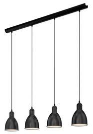 Pakabinamas šviestuvas Eglo Priddy 49466, 4X60W, E27