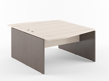 Skyland Xten X2CET 149.3 Double Desk Beech Tiara/Legno Dark