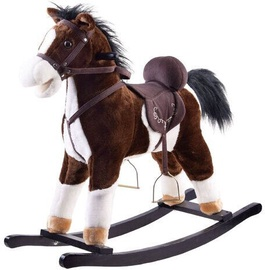 Конь-качалка Rocking Horse Dark Brown