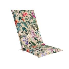 Krēslu spilveni Home4you Amazonia Seat Cushion 48x115x4.5cm Beige Flowers