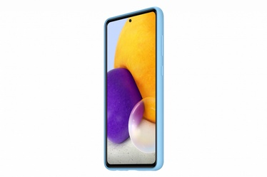 Samsung Silicone Back Case For Samsung Galaxy A72 Blue