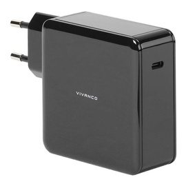 Vivanco USB Type-C Wall Charger 45W + USB Type-C Cable 1.5m Black