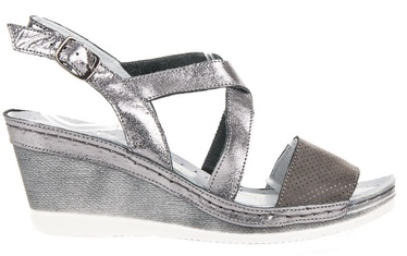 Vinceza 48902 Sandals On A Board Gray & Silver 37