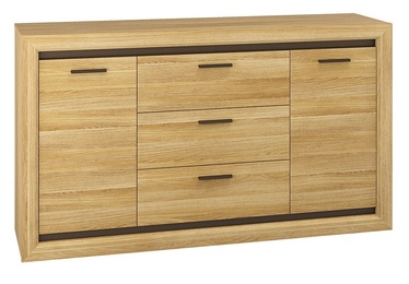 ML Meble Baltica 08 Chest Of Drawers Oak/Brown