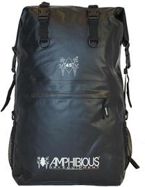 Amphibious Overland Waterproof Backpack 45L Black