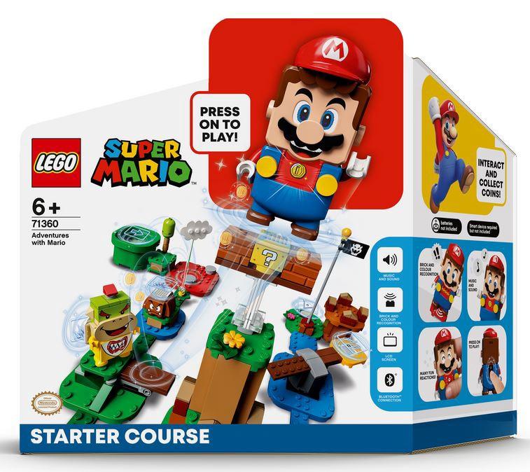 Конструктор LEGO Super Mario Приключения вместе с Марио. Стартовый набор 71360, 231 шт.