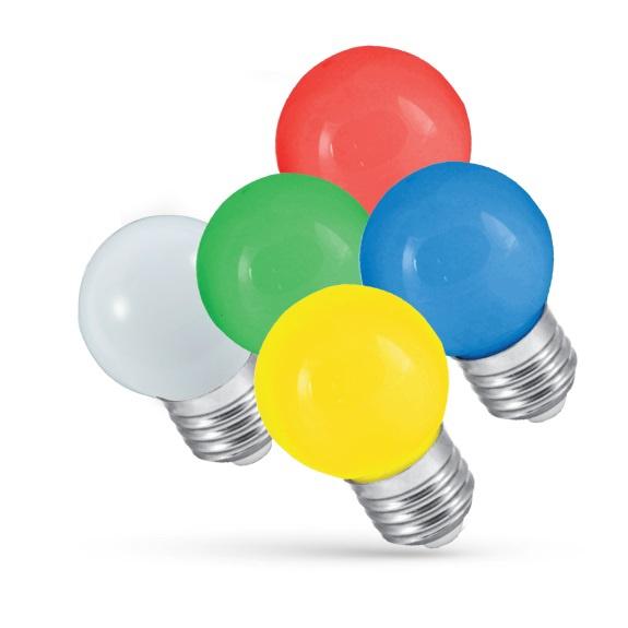 Spuldze led Spectrum G45, 1W, E27, 20lm