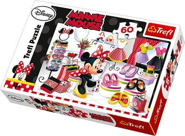 Puzle Trefl Disney Minnie Mouse Shopping 17225T, 60 gab.