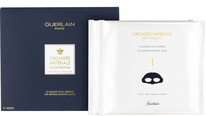 Guerlain Orchidee Imperiale Exceptional Complete Care The Imperial Radiance Mask 4pcs