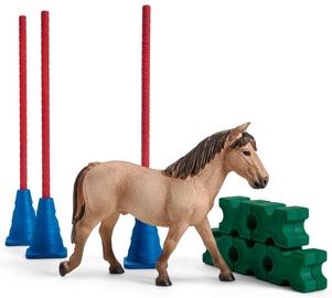 Фигурка-игрушка Schleich Farm World Pony Slalom 42483