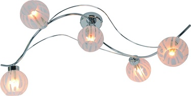 Lubinis šviestuvas JAY-5, 5X40W, E14