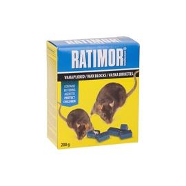 Hiire- & rotimürk Ratimor vahaplokk 200g
