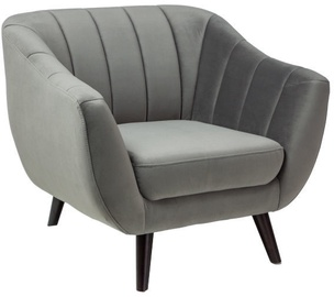 Signal Meble Armchair Fotel Elite 1 Velvet Grey