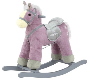 Milly Mally Rocking Horse PePe Purple