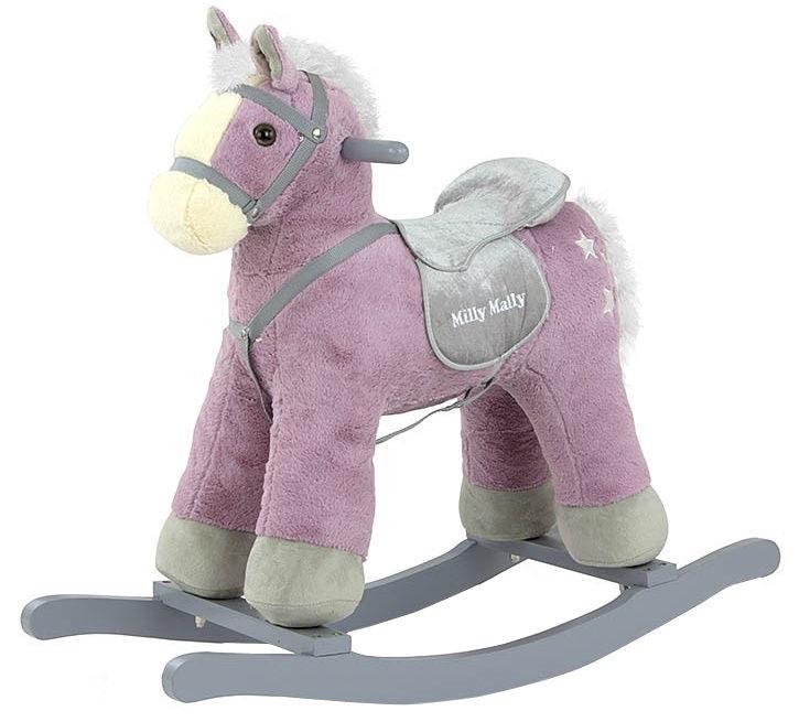Milly Mally Rocking Horse PePe Purple