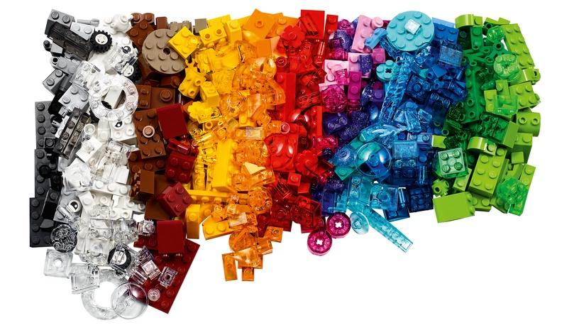 Constructor LEGO Classic Creative Transparent Bricks 11013