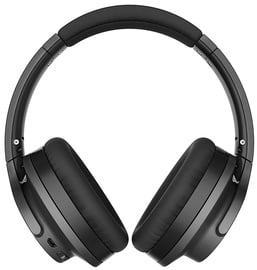 Ausinės Audio-Technica Wireless Noise Cancelling Headphones Black