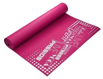 Gimnastikos kilimėlis 173x61x0.4 cm rožinė