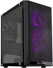 SilverStone SST-PS15B-RGB Precision Mini Tower Micro ATX Tempered Glass Black