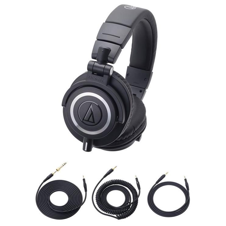 Ausinės Audio-Technica ATH-M50x Black