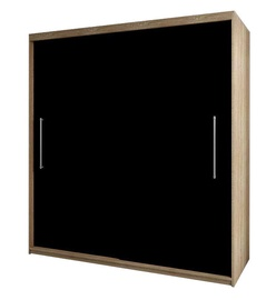 Idzczak Meble Rico 2D Wardrobe Sonama Oak/Black