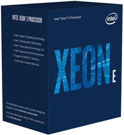 Процессор сервера Intel® Xeon® E-2224G 3.5GHz 8MB BOX BX80684E2224GSRFAW