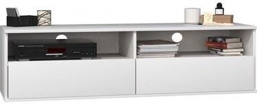 TV galds Top E Shop Rumba 140, balta, 1380x400x380 mm
