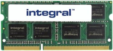 Integral 8GB 1333MHz CL9 DDR3 SODIMM IN3V8GNZJII