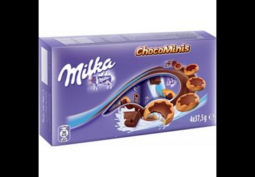 Sausainiai Milka Choco Minis, 150 g
