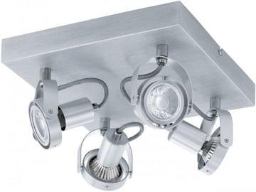 Eglo Novorio 94645 Spotlight Ceiling Lamp 4x5W GU10 Aluminium