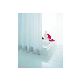 Vonios užuolaida Ridder Uni White, 200 x 180 cm