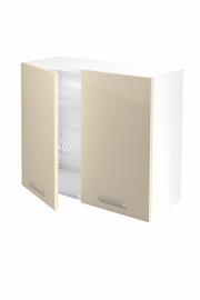 Halmar Kitchen Upper Cabinet Vento GC-80/72 Beige