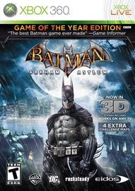 Batman: Arkham Asylum GOTY Xbox 360