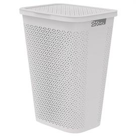 Curver Terrazzo Laundry Basket 55 l White