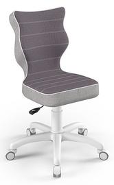 Детский стул Entelo Petit CR07, белый/фиолетовый, 350 мм x 830 мм