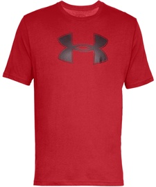 Under Armour Mens Big Logo T-Shirt 1329583 600 Red S