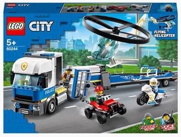 Конструктор LEGO City Полицейский вертолётный транспорт 60244, 317 шт.