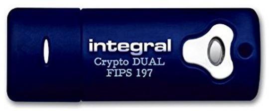USB atmintinė Integral Crypto Dual, USB 3.0, 32 GB