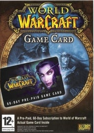 World Of Warcraft 60-Day Pre-Paid Game Card