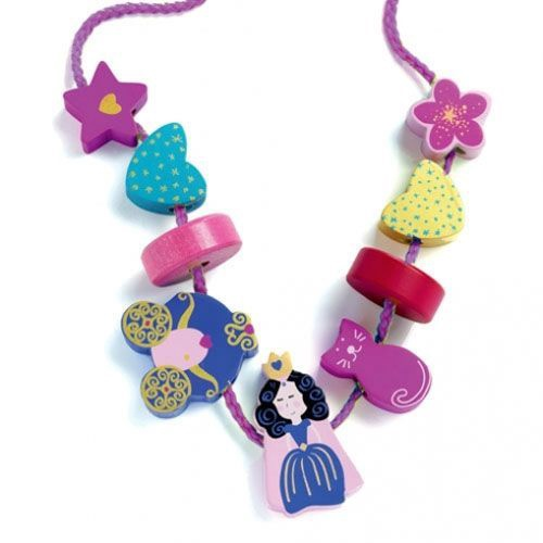 Djeco Princess Beads Set With
