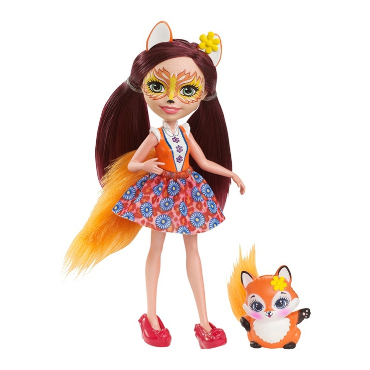 Lelle Mattel Enchantimals Felicity Fox DVH89