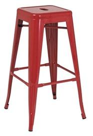 Signal Meble Long Bar Stool Red